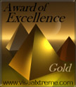"Visual Xtreme""s ""Gold"" award of excellence"